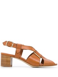 A.P.C. Strappy Sandals 60