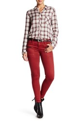 Sanctuary Ace Utility Skinny Jean Red
