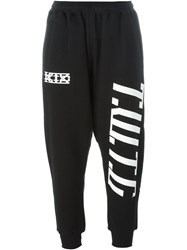 Ktz Logo Print Sweatpants Black