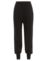 Stella Mccartney Julia Straight Leg Trousers Black
