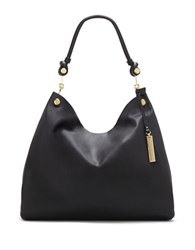 Vince Camuto Ruell Leather Hobo Black
