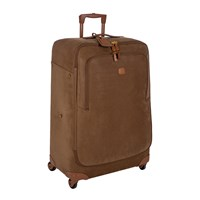 Bric's Life Thermoform Trolley Suitcase Camel Brown