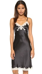 Only Hearts Club All Year Long Silk Slip Black Vintage