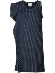 3.1 Phillip Lim Striped Dress Blue
