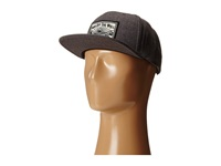 Vans Oakdale Snapback Charcoal Heather Caps Gray
