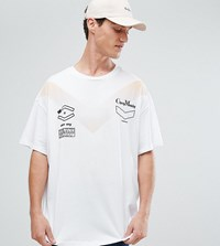 Cheap Monday Squad T Shirt In White White
