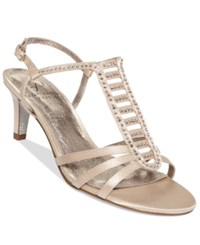 Adrianna Papell Ainsley Evening Sandals Women's Shoes Nude