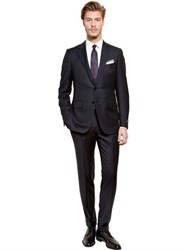 Ermenegildo Zegna Pin Striped Wool Suit