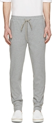 3.1 Phillip Lim Heather Silk Trim Lounge Pants