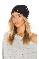 Autumn Cashmere Star Beanie Black