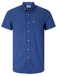 Barbour Lymington Short Sleeve Shirt Navy