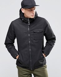 Element Freemont Parka Black Quilted Lining Black