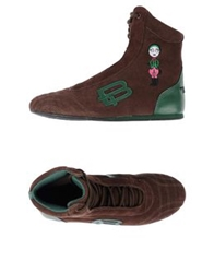 Tosca Blu High Tops And Trainers Dark Brown
