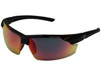 Tifosi Optics Jet Fc Matte Black Athletic Performance Sport Sunglasses