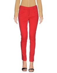 Yoon Trousers Casual Trousers Red
