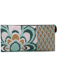 Circus Hotel Floral Print Clutch Women Cotton One Size