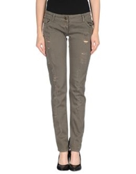 Adele Fado Denim Pants Military Green