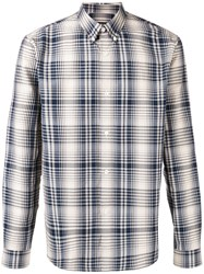 A.P.C. Plaid Shirt Blue