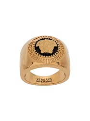 Versace Medusa Head Ring Gold