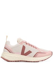 Veja Panelled Low Top Trainers 60