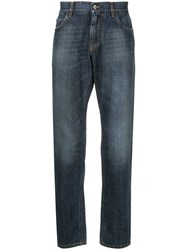 Dolce And Gabbana Loose Fit Jeans Blue