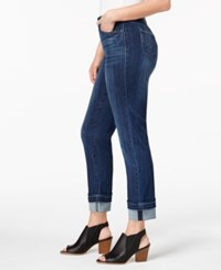 Style And Co Cuffed Hem Straight Leg Jeans Created For Macy's Monty