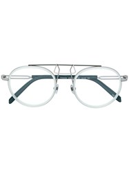 Calvin Klein 205W39nyc Logo Glasses Nude And Neutrals