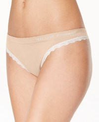 Heidi By Heidi Klum Seamless Thong H37 1175B Only At Macy's Toasted Almond