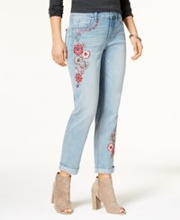 Vintage America Embroidered Boyfriend Jeans Hartly Bot
