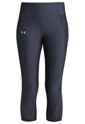Under Armour Fly By Tights Grey Black