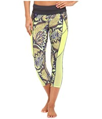 Maaji Hike Pine Active Capris Multicolor Women's Capri