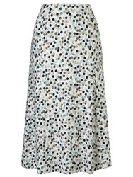 Eastex Painted Spot Jersey Skirt Multi Coloured