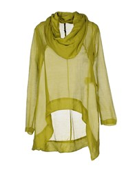 Manila Grace Shirts Blouses Women Acid Green