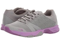 The North Face Litewave Ampere Ii Quartz Silver Grey Wood Violet Women's Shoes Gray