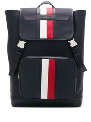 Tommy Hilfiger Elevated Signature Backpack Blue