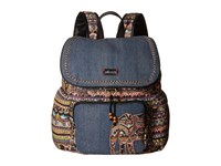 Sakroots Artist Circle Signature Backpack Taupe One World Backpack Bags