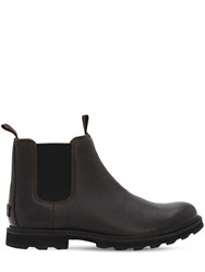 Sorel Madson Chelsea Wp Boots Tobacco