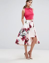 Coast Toulouse Printed Skirt Pink