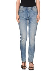 Loiza By Patrizia Pepe Denim Denim Trousers Women Blue