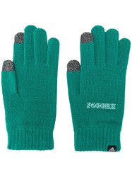 Gosha Rubchinskiy Graphic Slogan Gloves Green