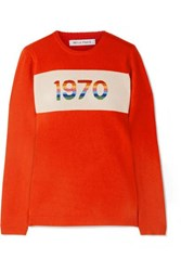 Bella Freud 1970 Cashmere Blend Sweater Red