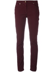 Etro Super Skinny Trousers Red
