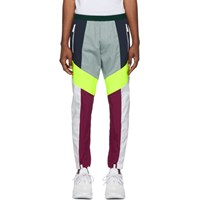 Dsquared2 White Colorblocked Lounge Pants