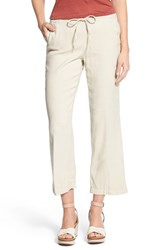 Nydj Women's 'Jamie' Relaxed Ankle Flared Pants Sand Dollar