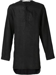 Isabel Benenato Tunic Shirt Black
