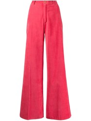 Forte Forte Velvet Flared Trousers 60