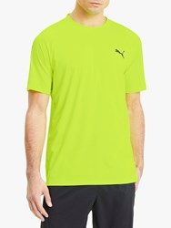 Puma Power Thermo R Training Top Yellow Alert