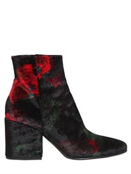 Strategia 70Mm Velvet Ankle Boots