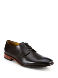 Saks Fifth Avenue By Cole Haan Kilgore Leather Derby Shoes Chestnut Black