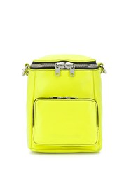 Mcq By Alexander Mcqueen Small Loveless Convertible Backpack Yellow